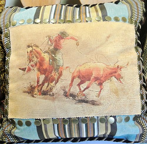 HWPL659 Double D Ranch Pillow